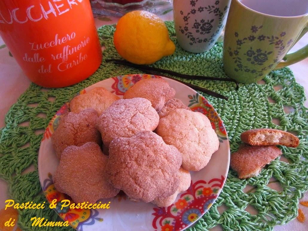 biscotti  di vaniglia e limone