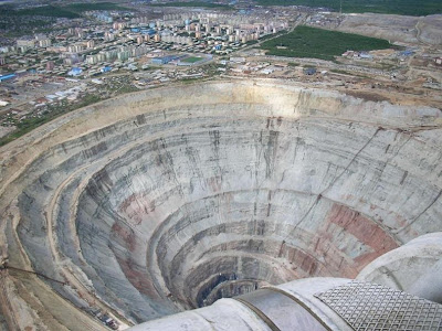 Tambang Berlian Mir di Rusia