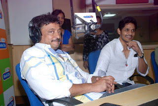 Ram Gopal Verma  spotted at Radio City 91.1 FM for promotion
