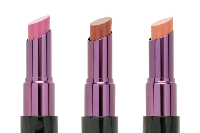Urban Decay Matte Revolution Lipsticks - Swatches on Pale Skin