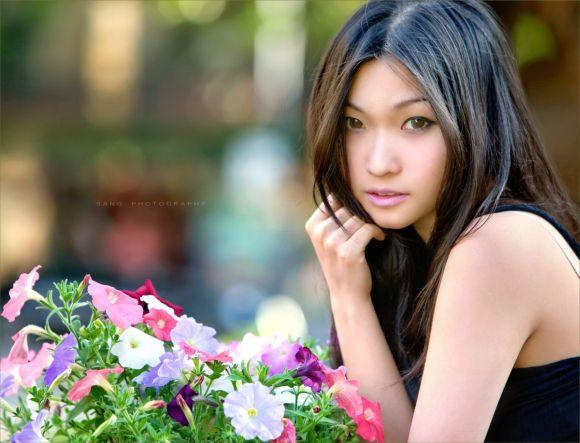 Sang Nguyen fotografia mulheres modelos orientais