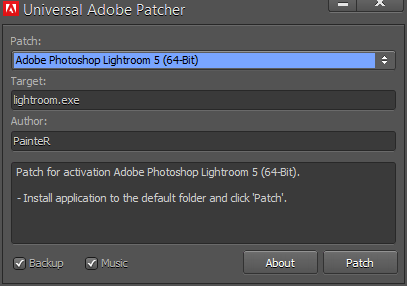 Adobe Universal Patcher v1.1