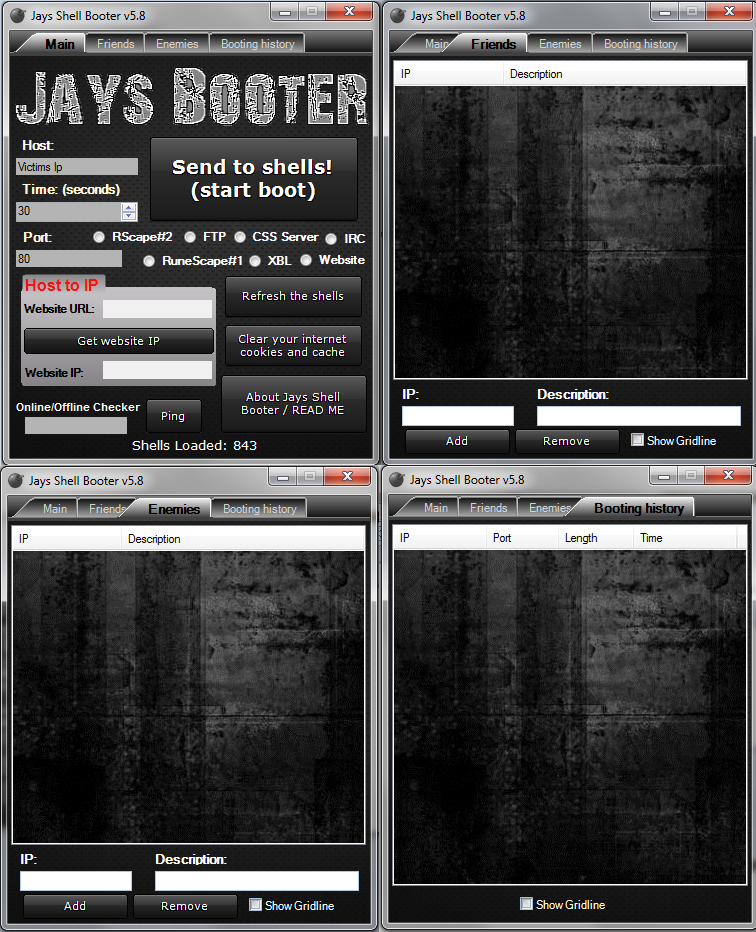 Jays Booter 6.0 DoS - Hacking Tools!