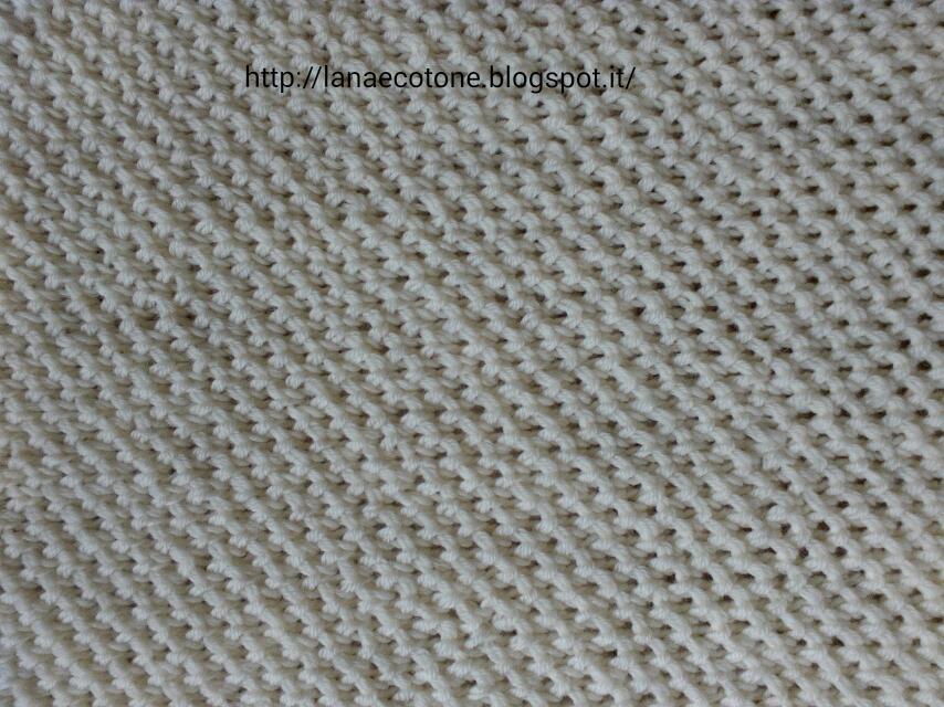 Lana e cotone maglia e uncinetto copertina a ferri - Bagno 37 silvana bellaria ...