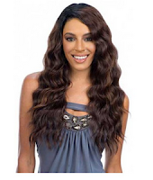 Equal Brazilian Natural Deep Diagonal Part Lace Wig Flirty Deep