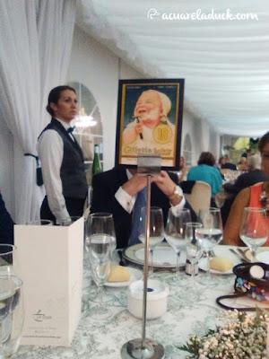 meseros boda vintage