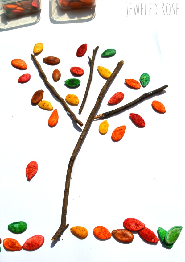 Fall activities tree craft for Kids