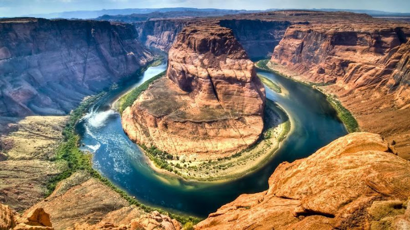 Horseshoe Bend - Page City, Arizona, USA Seen On www.coolpicturegallery.us