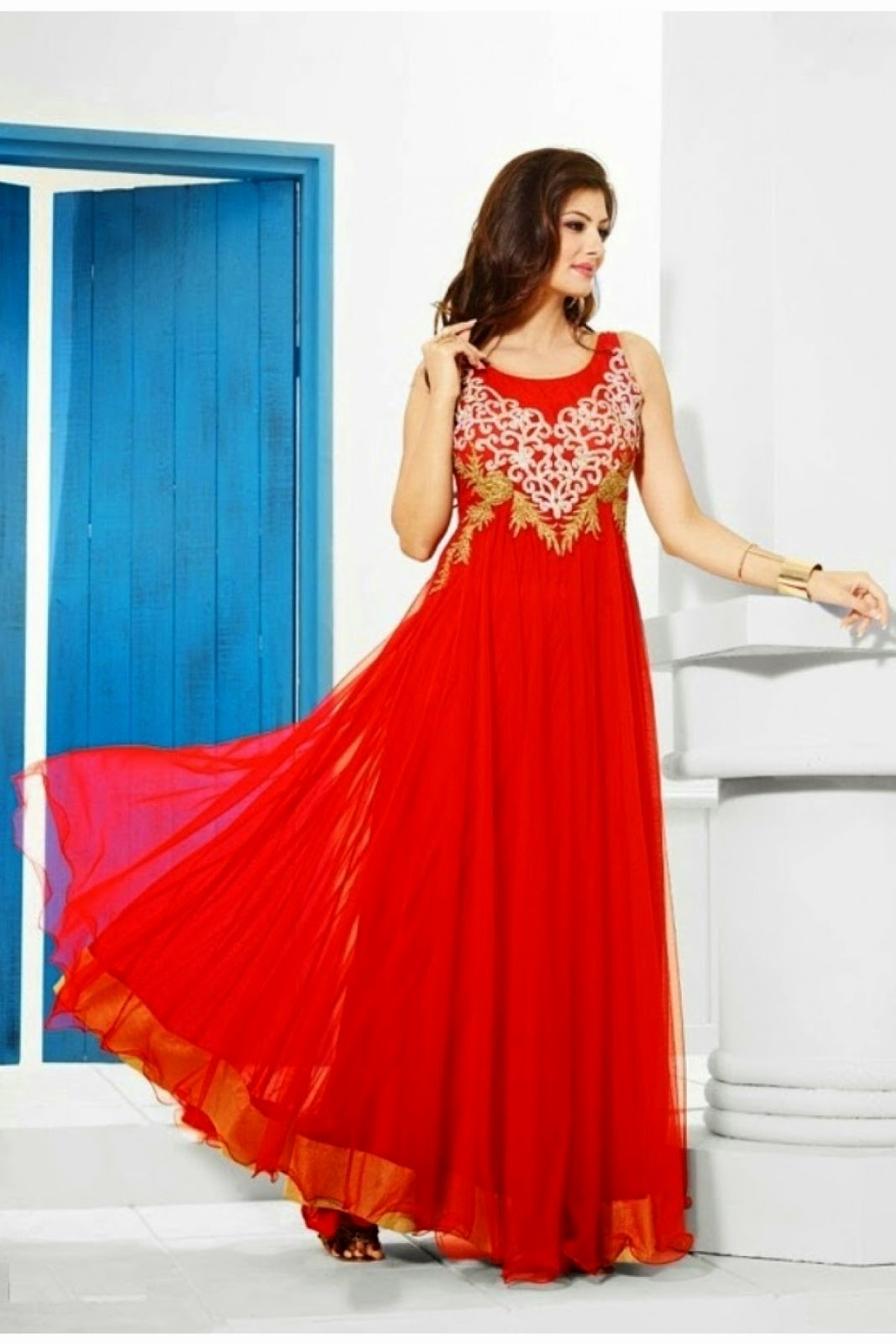 Indowestern Floor Length Dresses 2015
