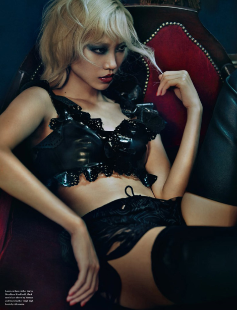 Soo Joo Park by Rory Payne for Wonderland Magazine