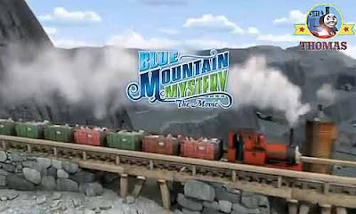 Blue Mountain Mystery Thomas the tank engine film premieres UK and US movie theatres September 2012