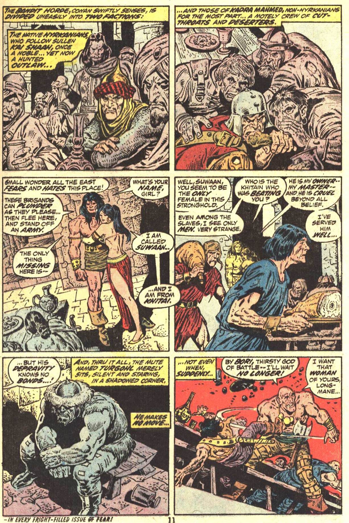 Conan the Barbarian (1970) Issue #27 #39 - English 9