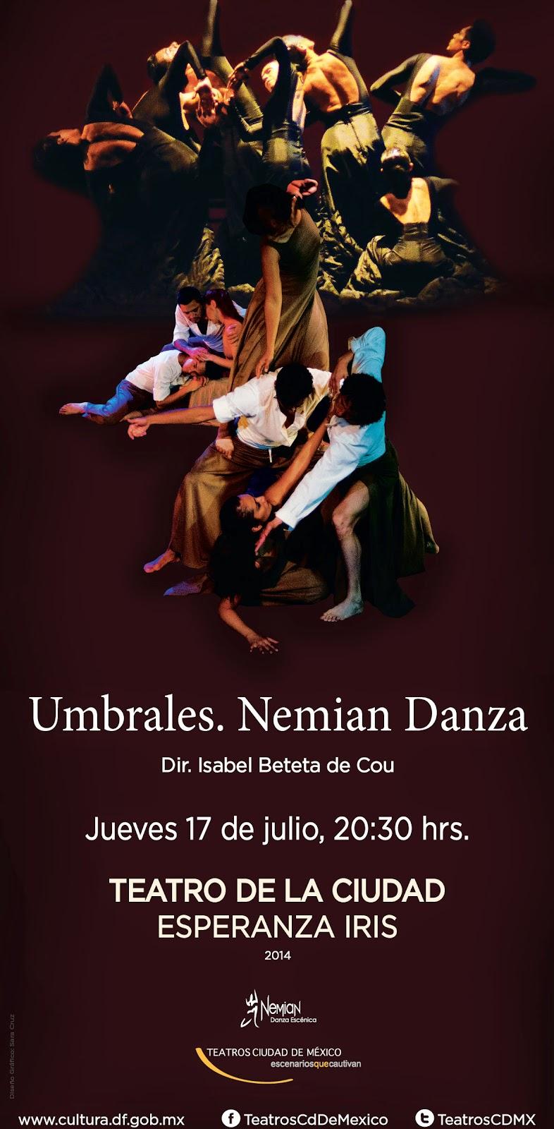 """La compañía Nemian Danza presenta """"Umbrales"""" en el Teatro de la Ciudad"""