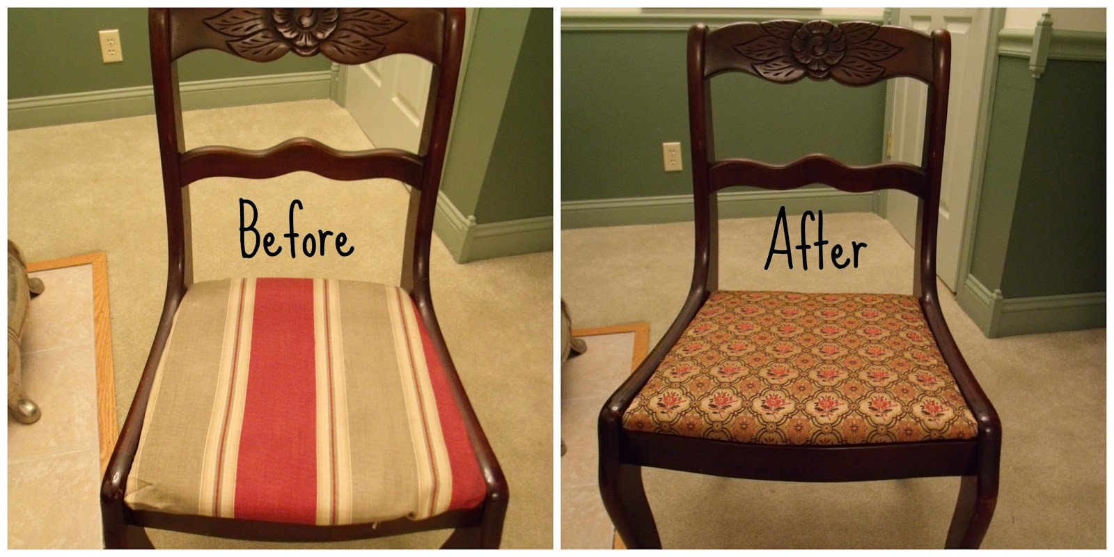 Reclaim renew remodel furniture friday the easiest furniture to upholster - Reasons why you need stacking chairs ...