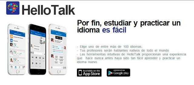 Aprende Italiano y otros idiomas desde tu móvil con HelloTalk