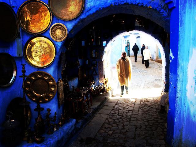 Chauen en Marruecos. Blue Morocco by Marta Viader.