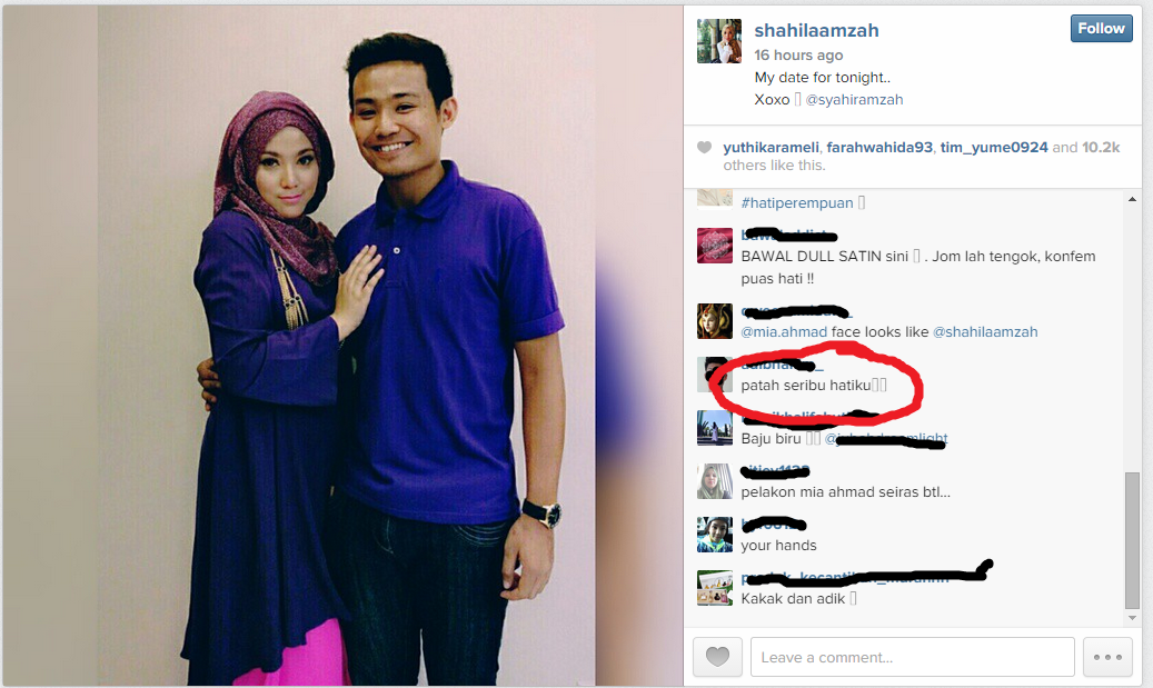 7 Foto Luahan Hati Shila Amzah My Date For Tonight