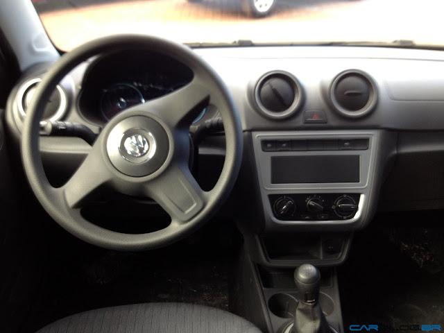 Gol G6 2013 1.0 interior - painel