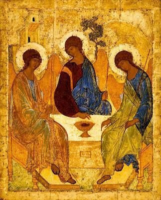 La Sainte Trinité (Troitsa) Andrey Rublev