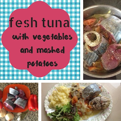 fresh tuna, recipe, food