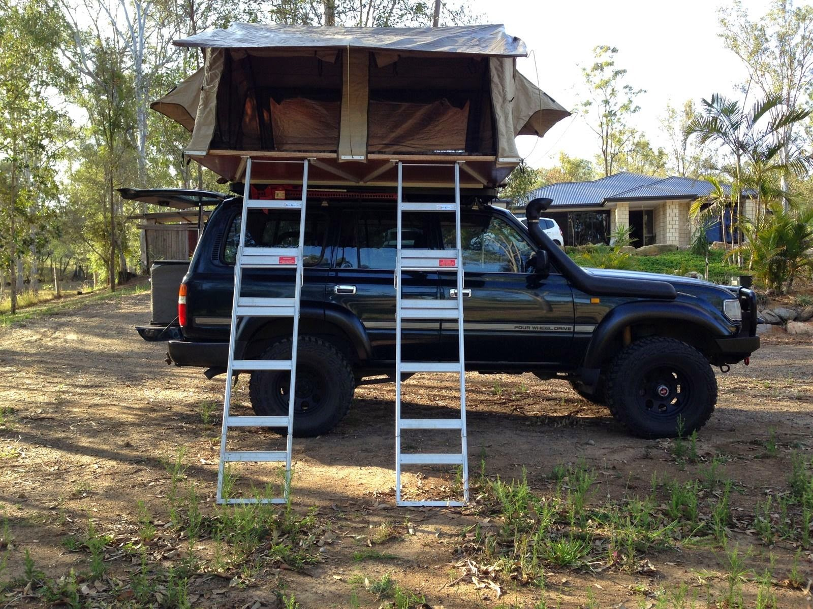 1992 Toyota Landcruiser GXL 80 Series with Camper - 4x4 Cars