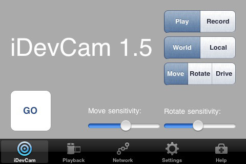 iDevCam 1.51 for 3ds Max