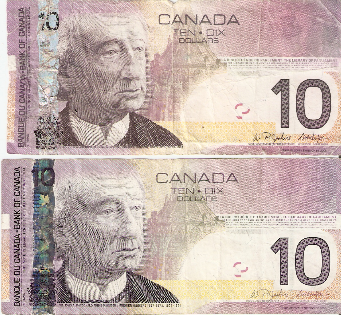 Fake Canadian Money Template
