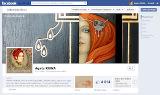 Agata Kawa / Facebook page / Painter - Arts & Crafts Designer
