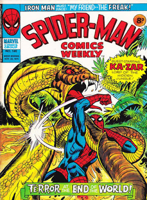 Spider-Man Comics Weekly #145
