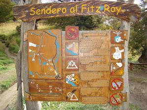 trilha ao Fitz Roy