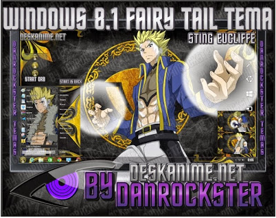 Fairy Tail Skins Windows 8 Fairy Tail Windows 8 1 8