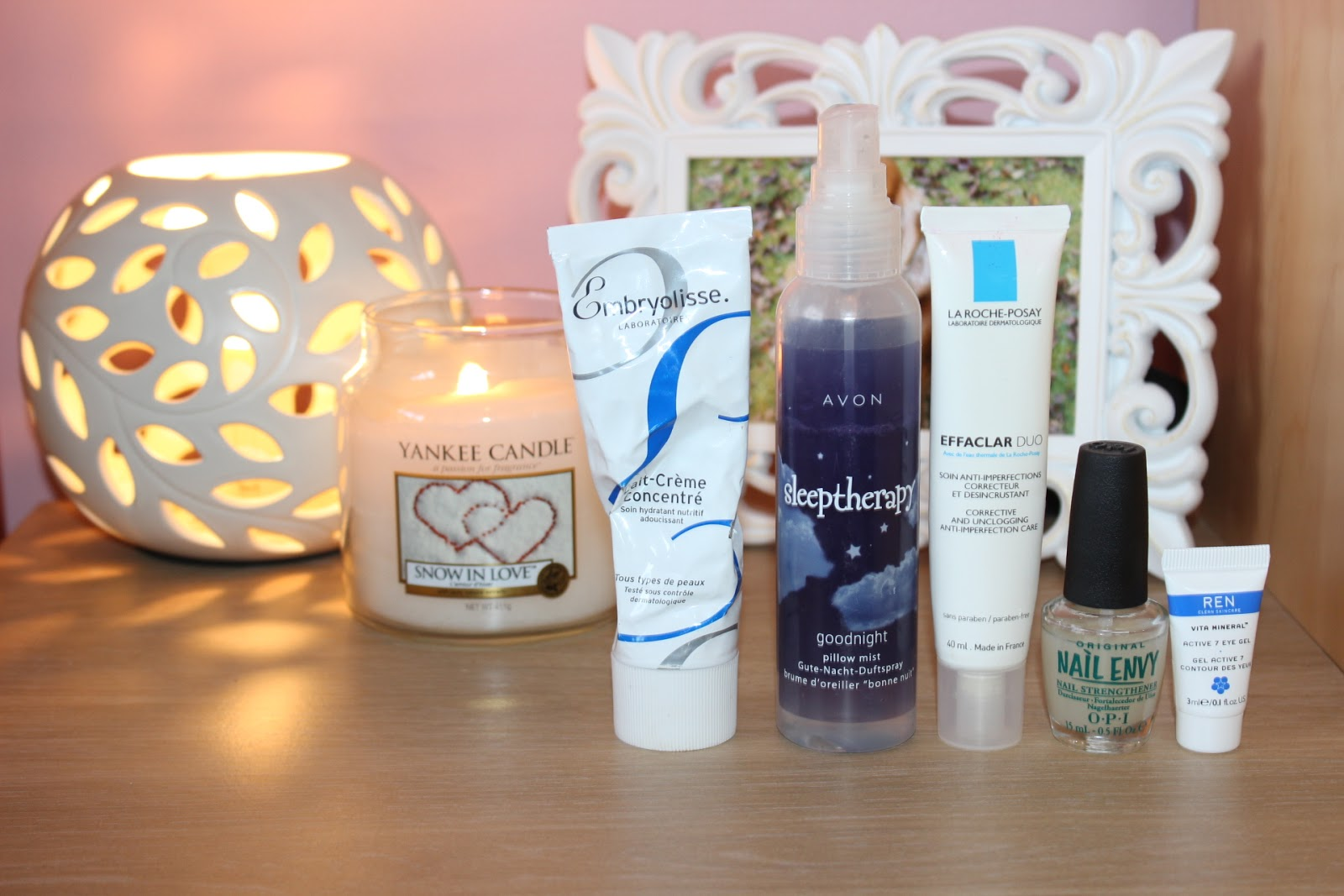 products used before bedtime