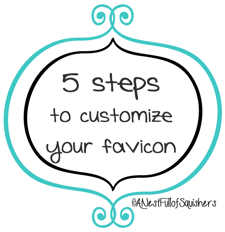 five steps to customize blogger favicon - @AndiGould