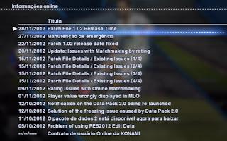 Como atualizar os times no PES 2013 2