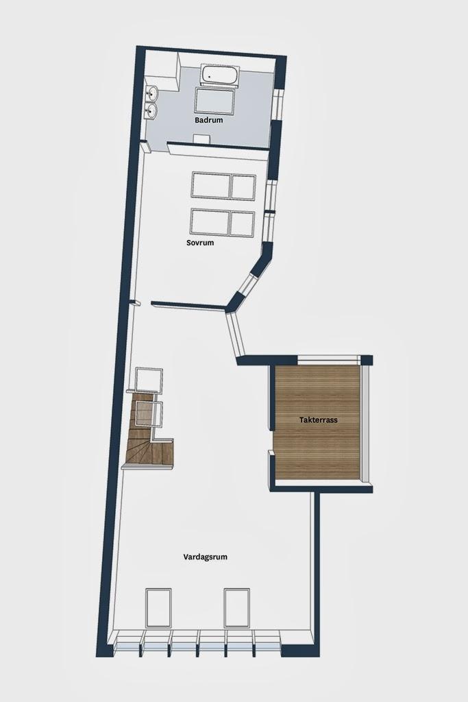 amenajari, interioare, decoratiuni, decor, design interior, duplex, apartament 5 camere, stil scandinav, plan amenajare,