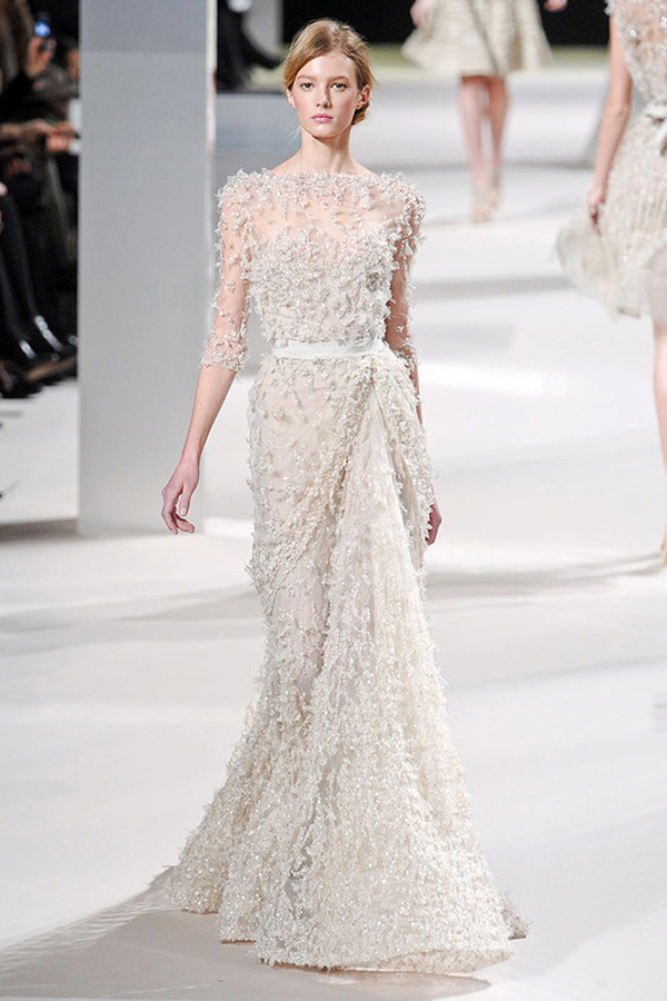 Luscious glamour elie saab spring summer 2011 couture for Modern haute couture
