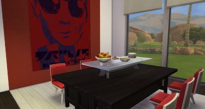 My sims 4 blog modern open concept kitchen dining and for Sims 3 dining room ideas