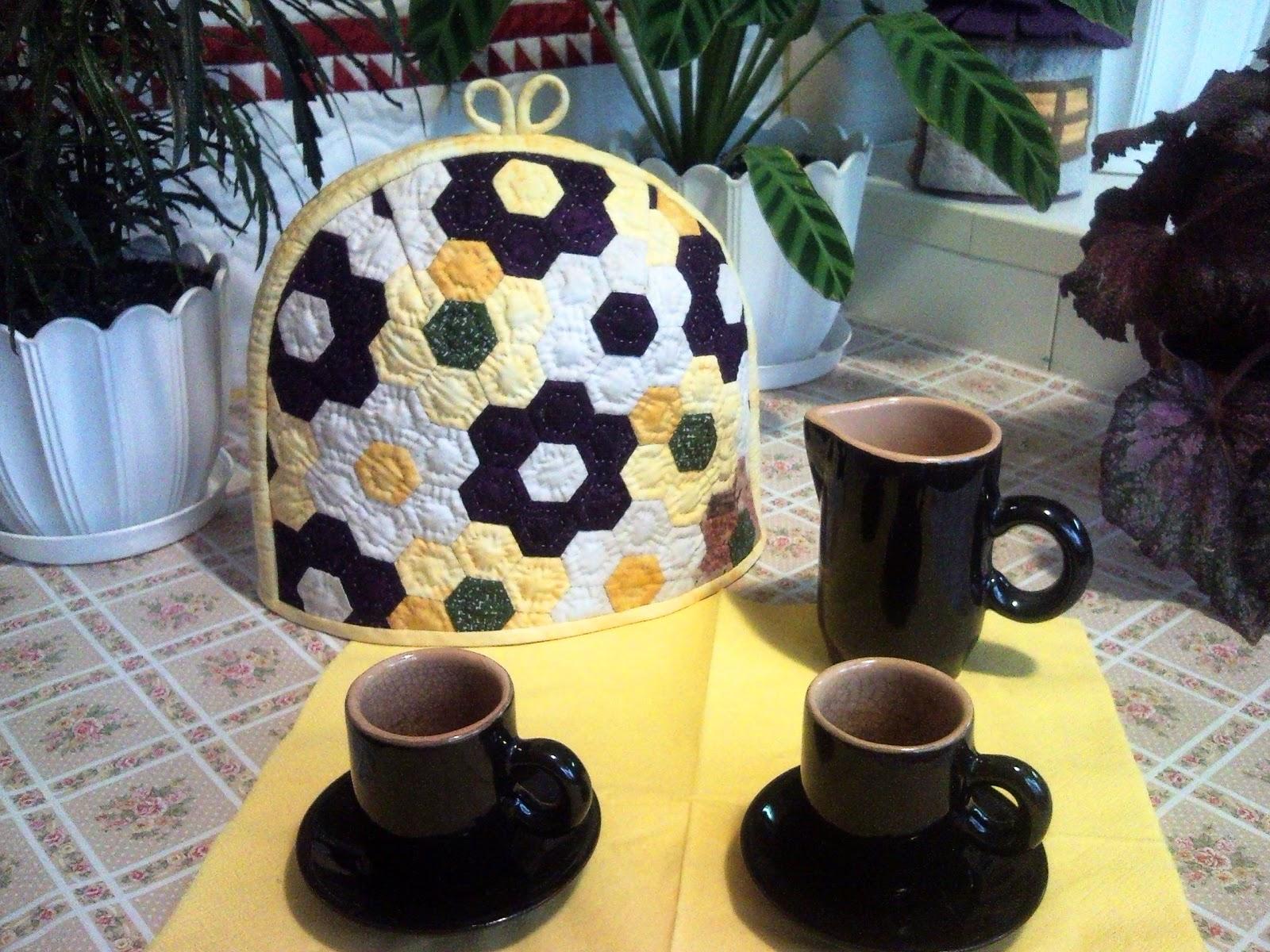 Фото как сшить грелку на чайник своими руками