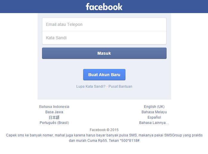 Facebook seluler lebih ringan