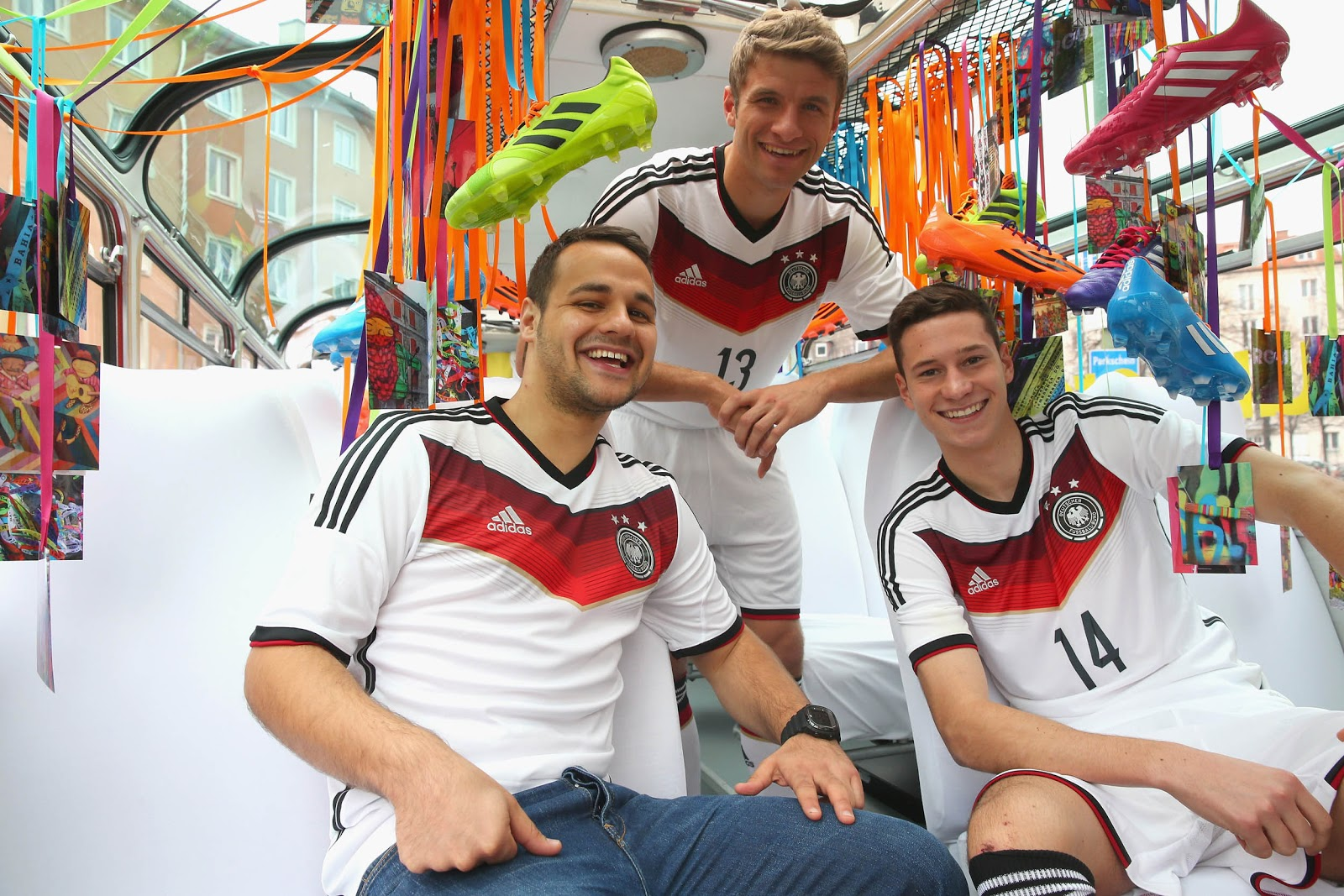 Germany 2014 World Cup Kits Unveiled Footy Headlines