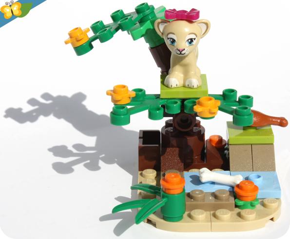 LEGO® Friends Animaux - Série 6 - La savane du lionceau