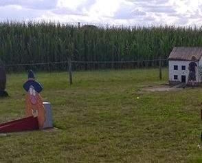 Crazy Croquet at Hemsby Mega Maze in Norfolk