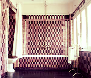 salle de bain art deco