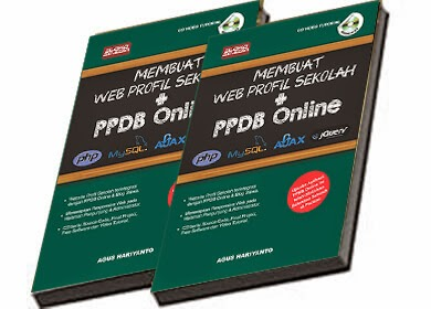 Web Profil Sekolah dan PPDB Online PHP, MySQL, AJAX jQuery & Bootstrap
