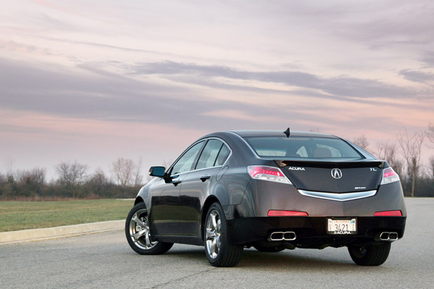 All About Cars Acura Tl Type S 2012