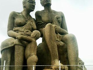 Ramakkalmedu statue
