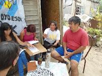 Charla de Integra en el barrio El Ahorcado de Tigre