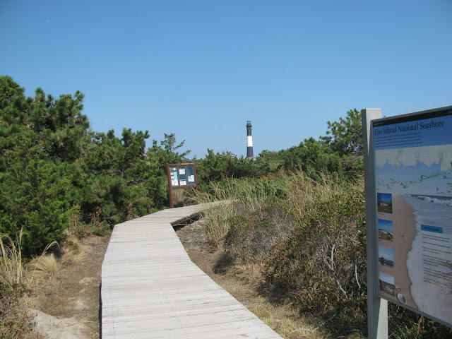 The-boardwalk-to-the-Fire-Island-Lighthouse-NY