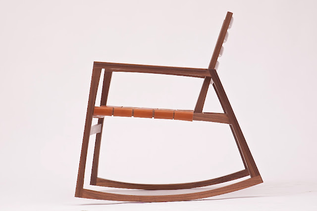 Killscrow, Darrick Rasmussen Furniture, Low Rocker side view 2013