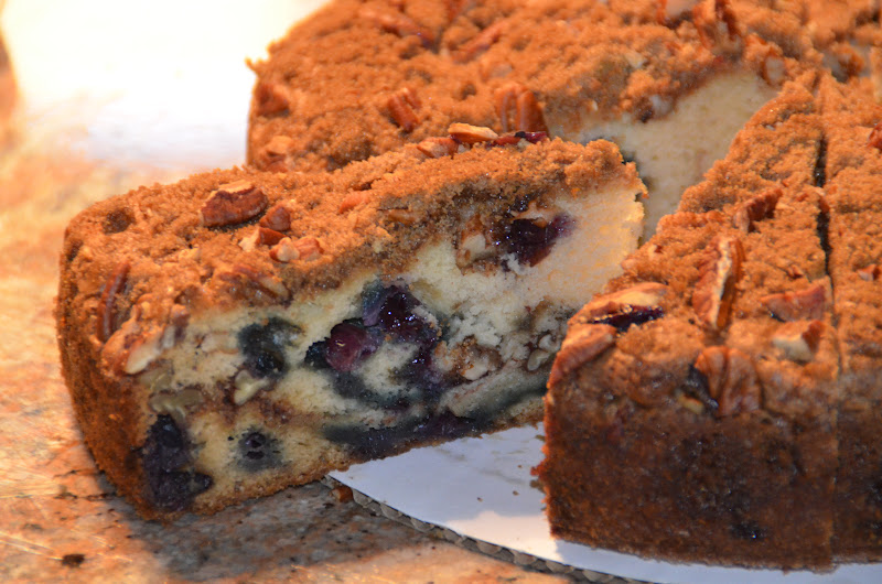 Can I get that recipe?: Blueberry Sour Cream Coffee Cake